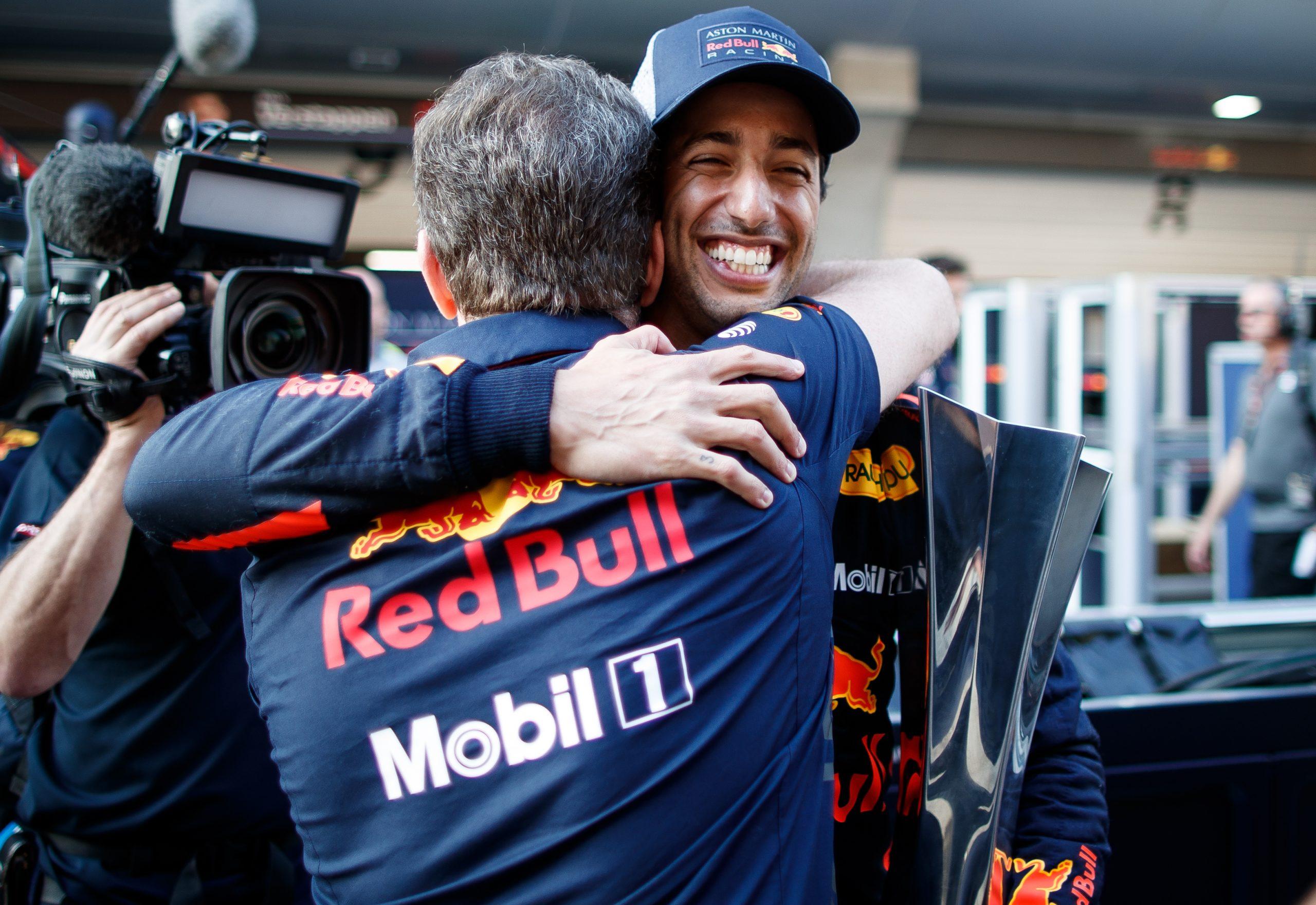 Daniel Ricciardo Red Bull gp de chine 2018