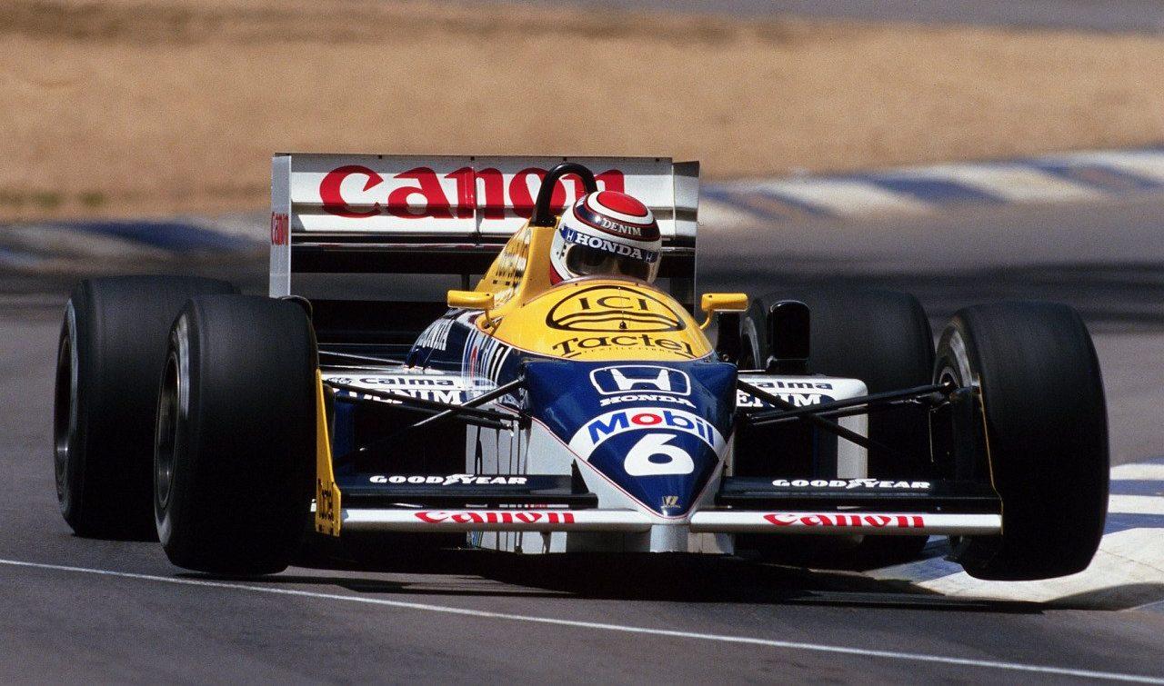 canon gp australie 1986 williams