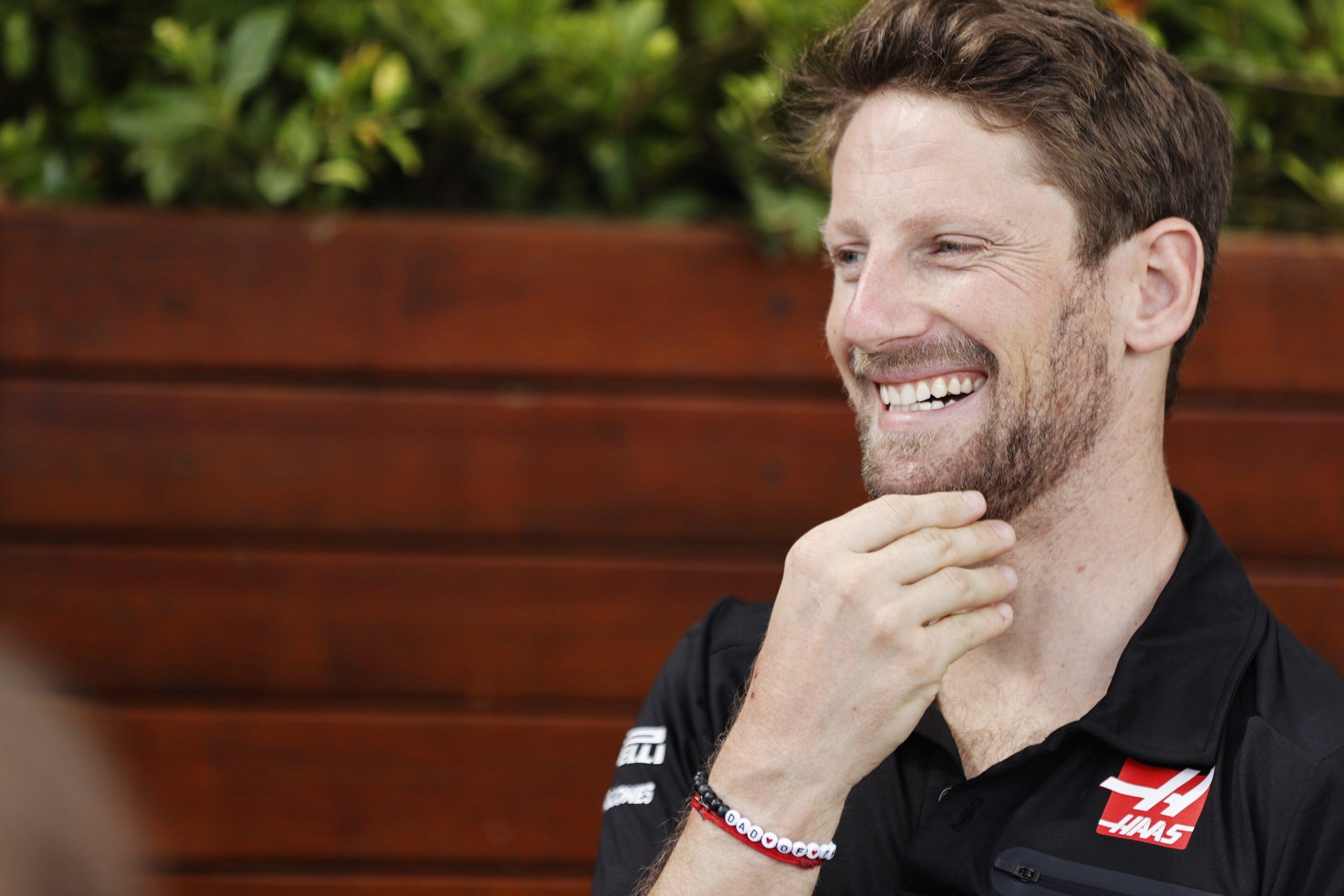 Romain Grosjean Haas F1