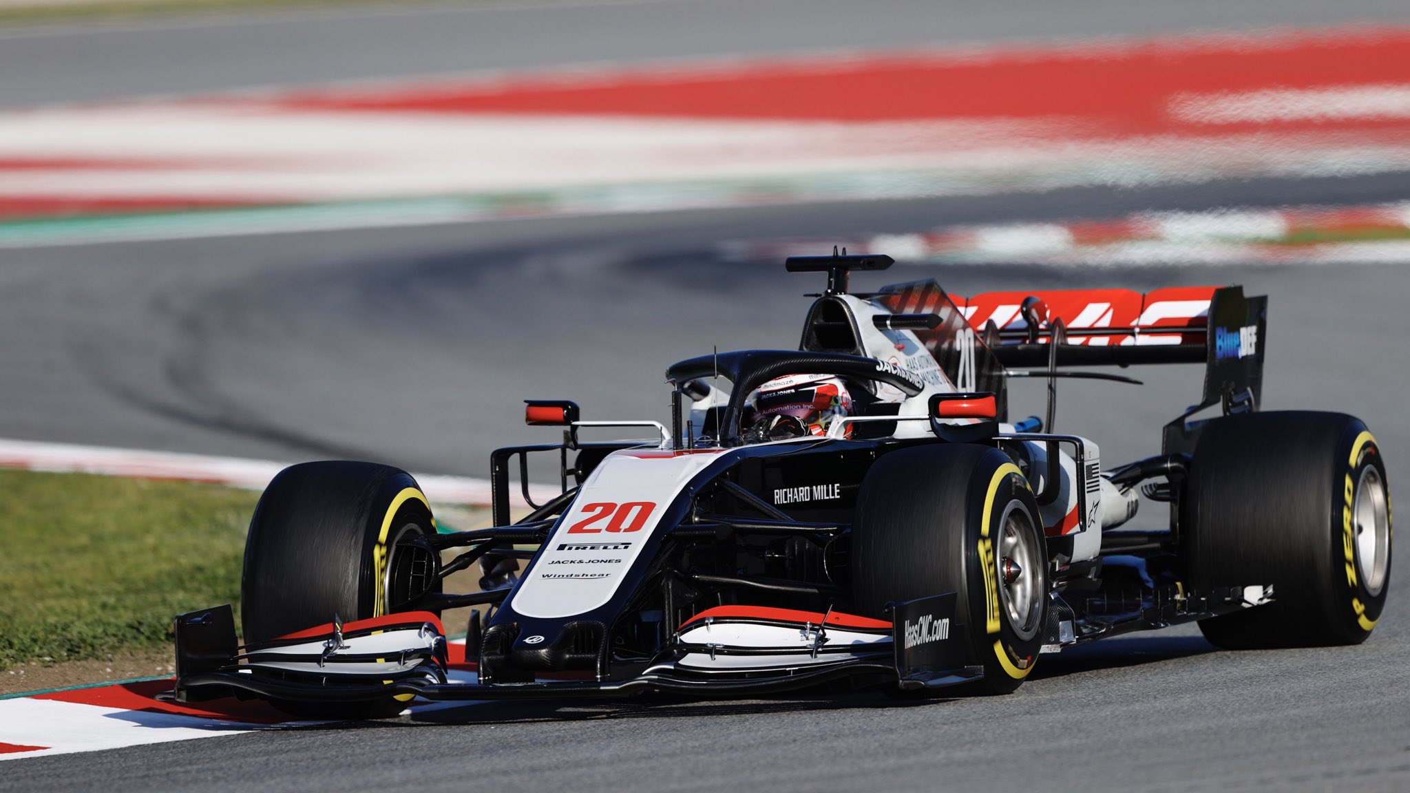 Haas Kevin Magnussen F1
