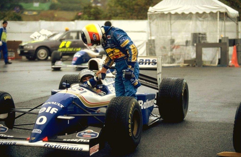 Williams F1 Damon Hill