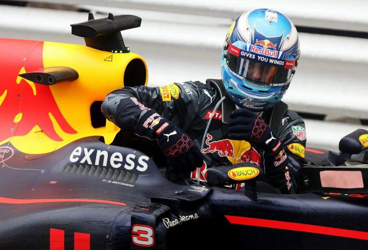 daniel ricciardo Red Bull monaco 2016