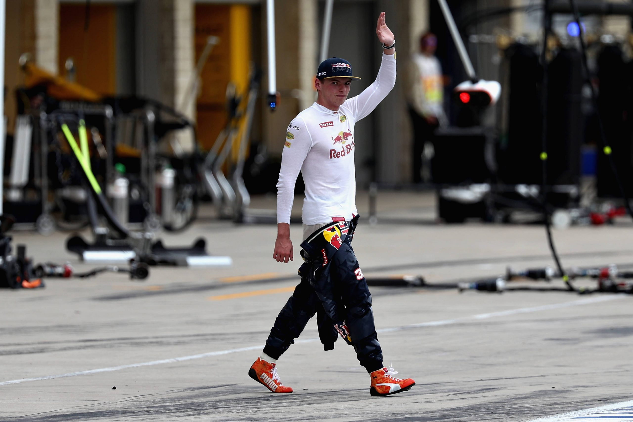 Max Verstappen 2016 Austin Texas F1