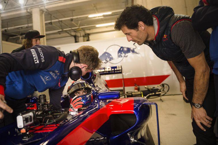 Marc Marquez F1 Toro Rosso