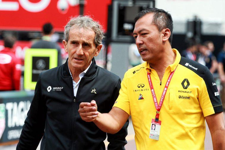 Alain Prost Renault F1