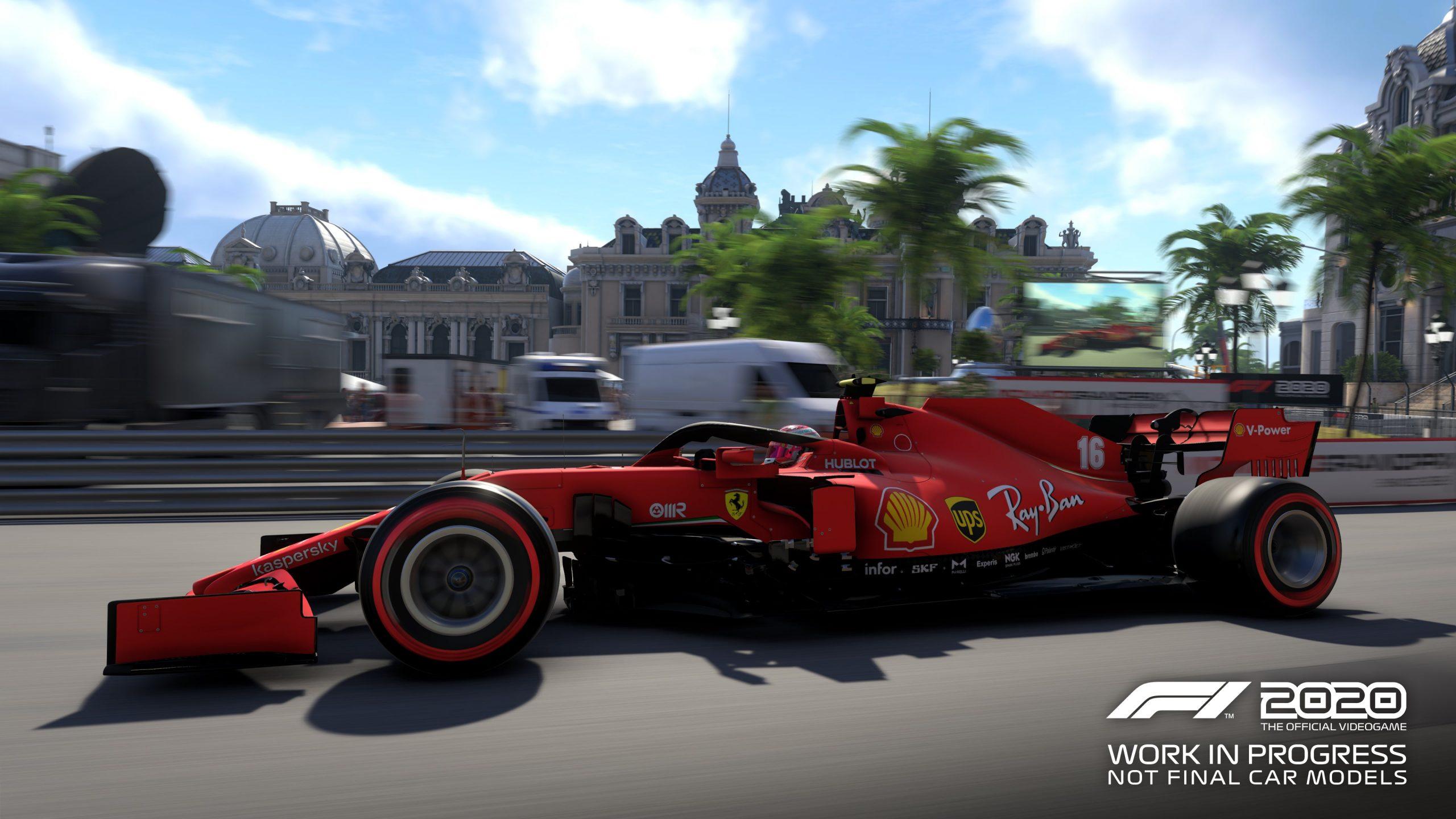 f1 2020 codemasters Monaco