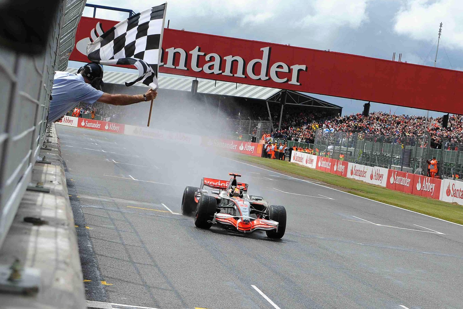 Lewis Hamilton McLaren 2008