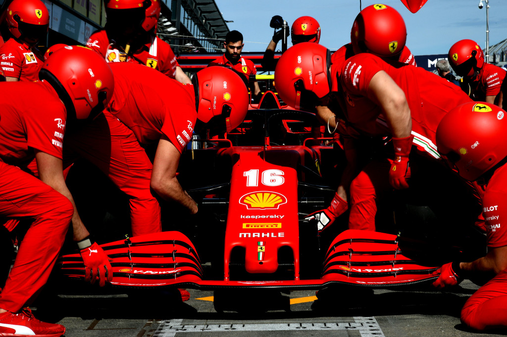Les deux Ferrari porteront le message #ForzaAlex ce week-end en Autriche