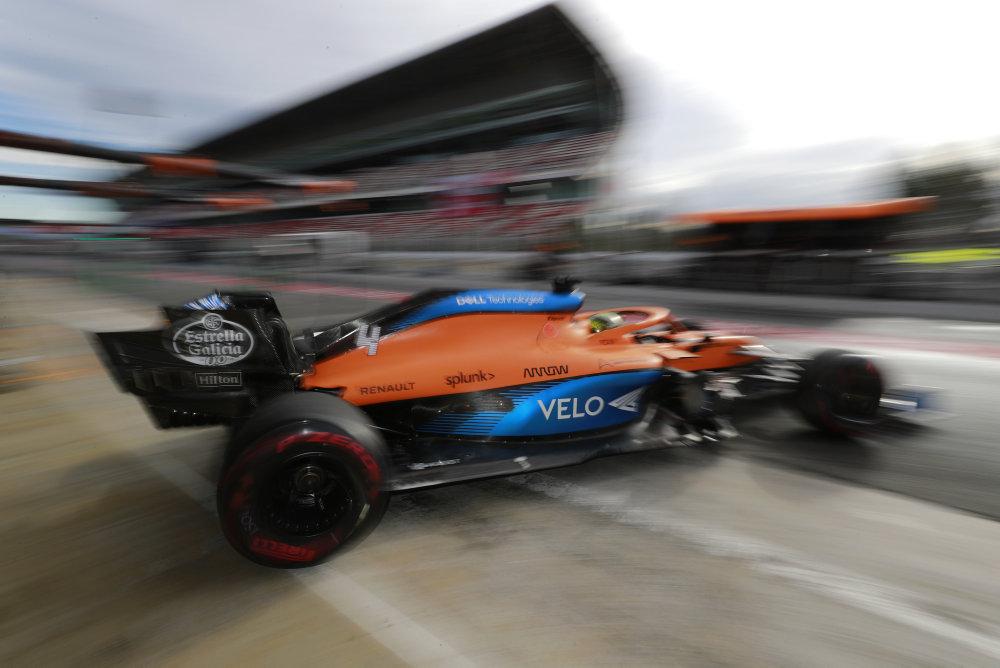 F1 - McLaren a dû trouver l'équilibre entre pièces de rechange et développement de la MCL35