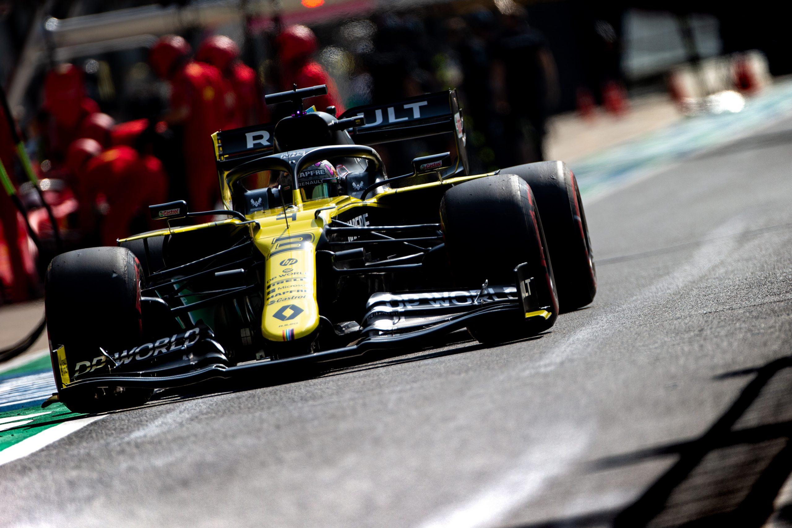"""Les évolutions """"semblent fonctionner"""" sur la Renault RS20 1"""