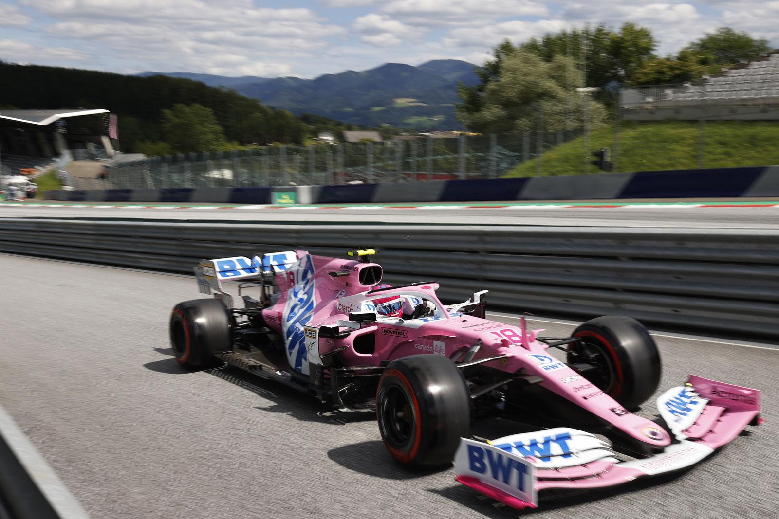 La Racing Point a tenu ses promesses ce samedi en qualifications 1