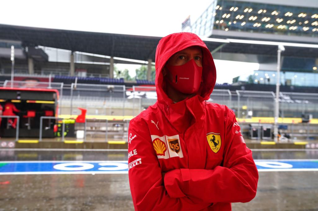 En plein cauchemar, Vettel a quitté le circuit prématurément ce dimanche 1