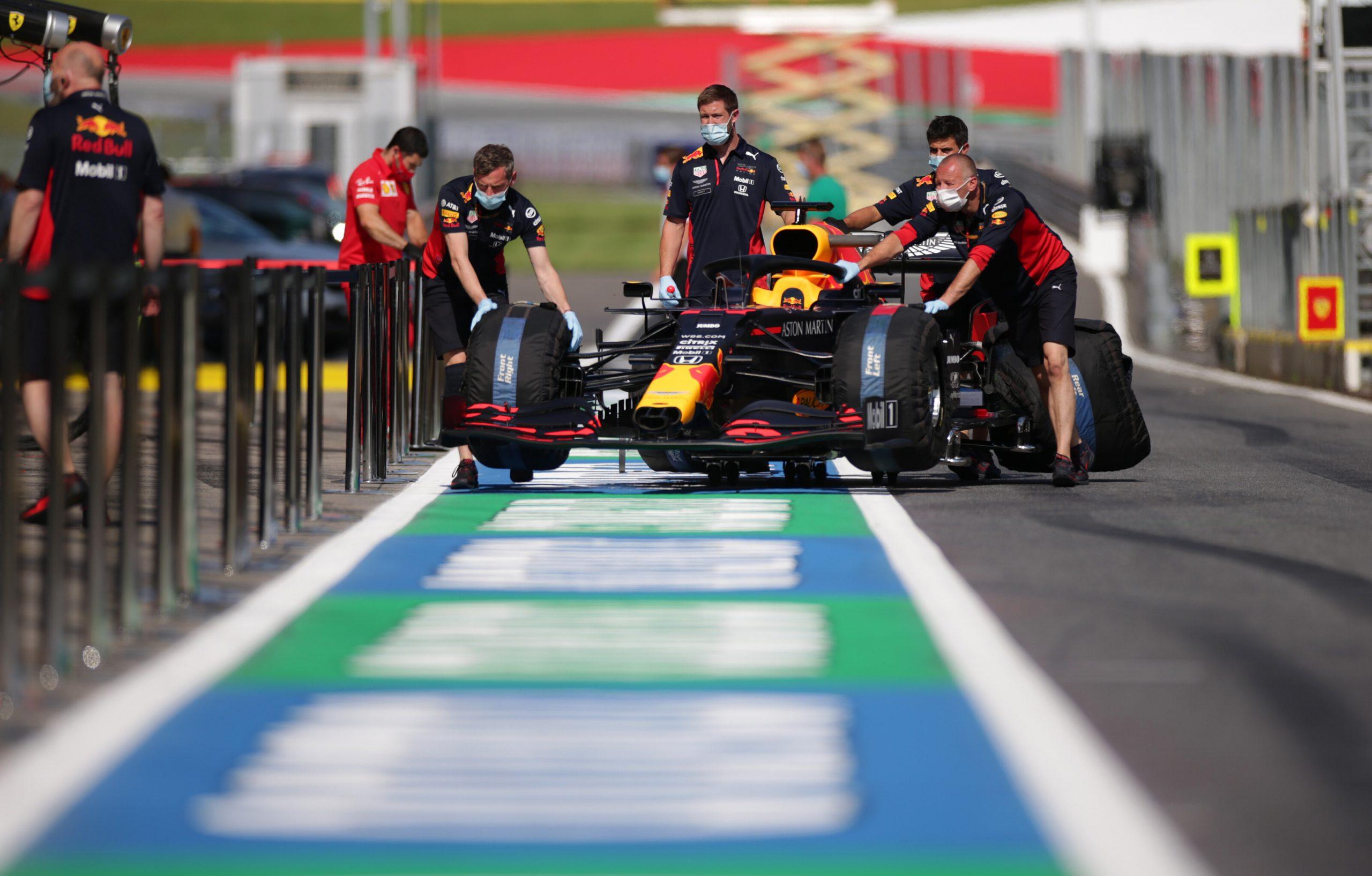 Le rapport du contrôle technique des F1 ce jeudi au GP de Styrie 1