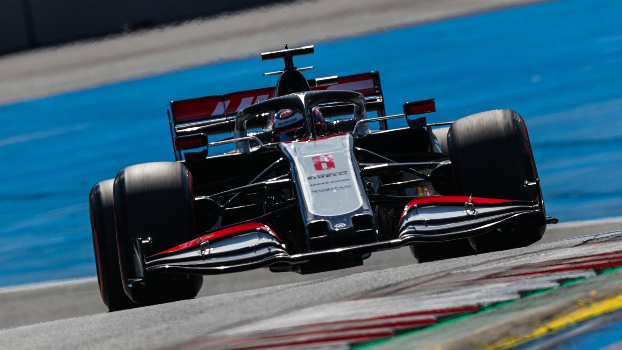 Un vendredi très difficile pour Haas, qui occupe les deux dernières places du classement 1