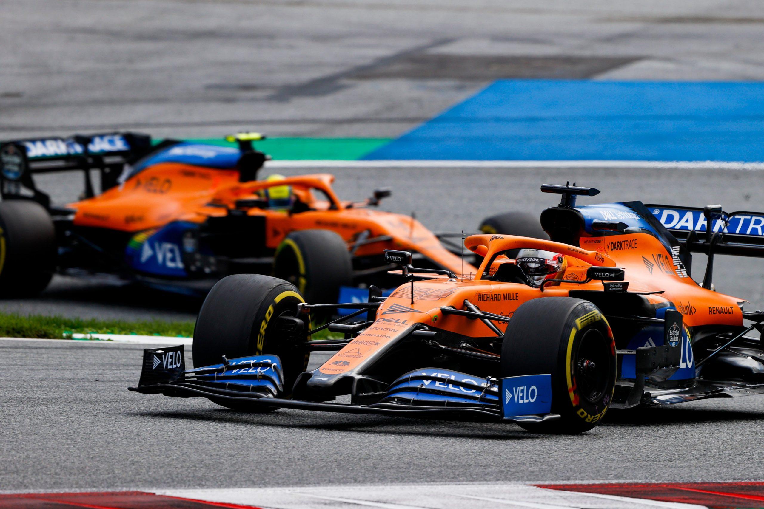 Classement F1 2020 : McLaren occupe la seconde position après le GP de Styrie 1