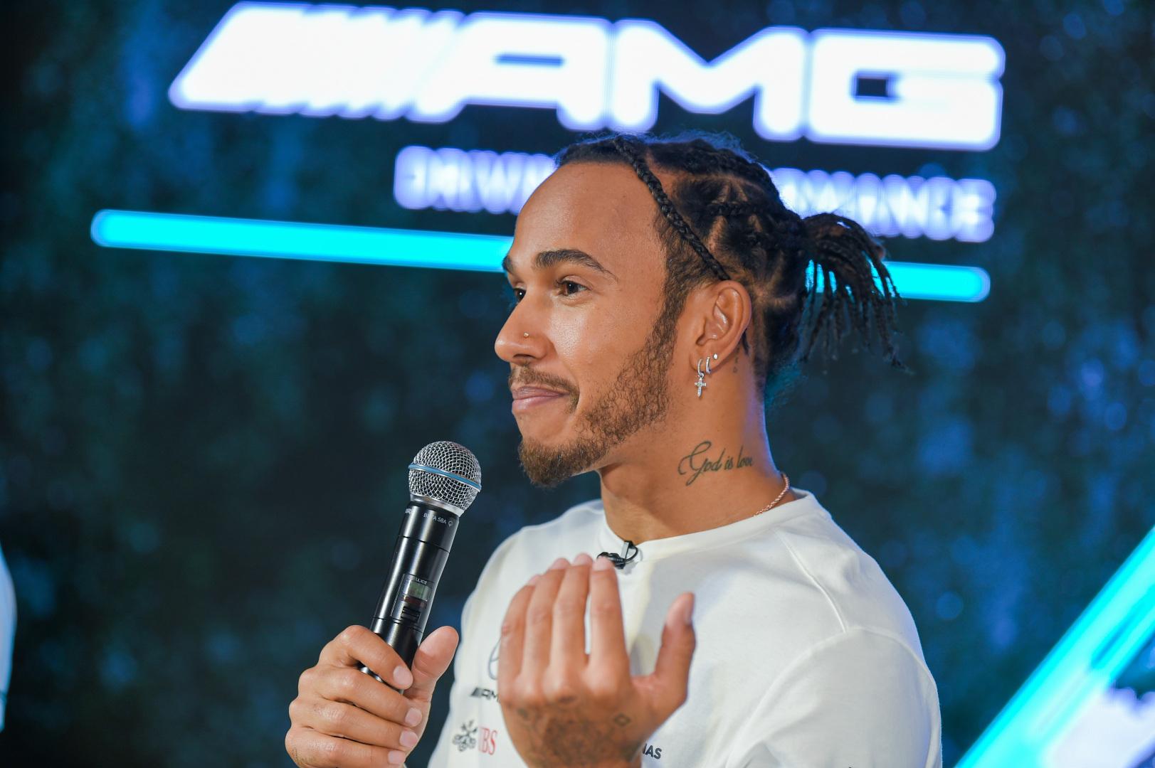 Un appel de Lewis Hamilton à l'origine de la livrée Noire de la Mercedes 1