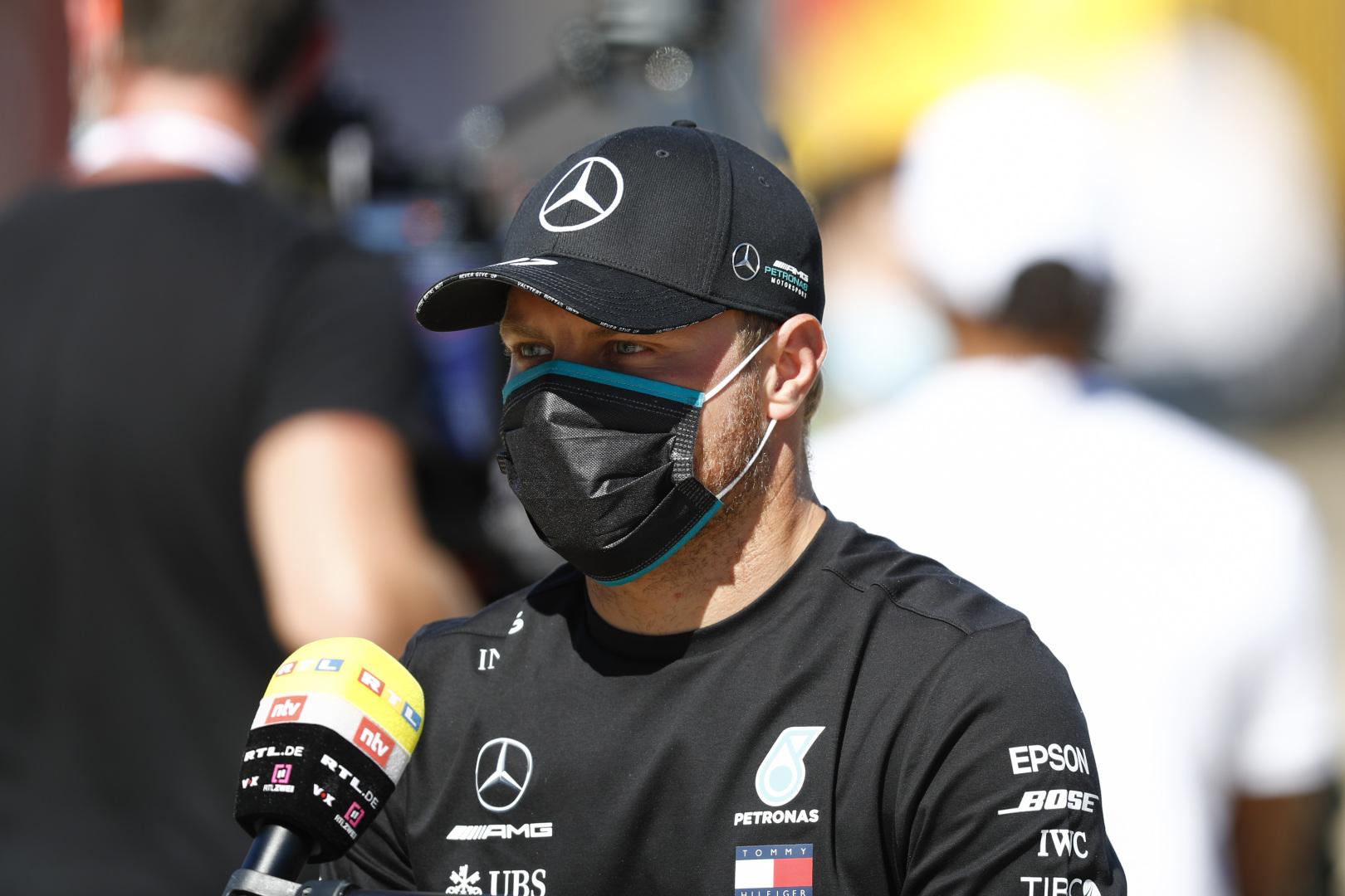 Bottas révéle que sa Mercedes transportait trop de carburant aux qualifications en Hongrie 1