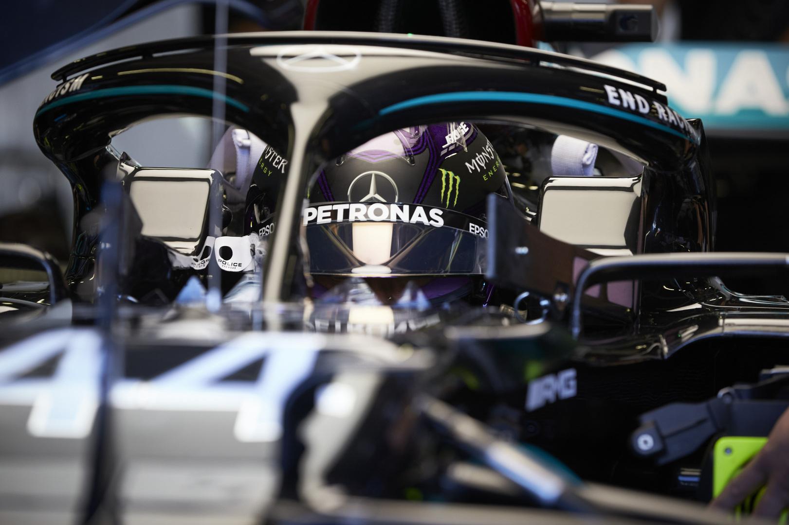 F1 - Hamilton n'a pas trouvé ses marques ce vendredi à Silverstone