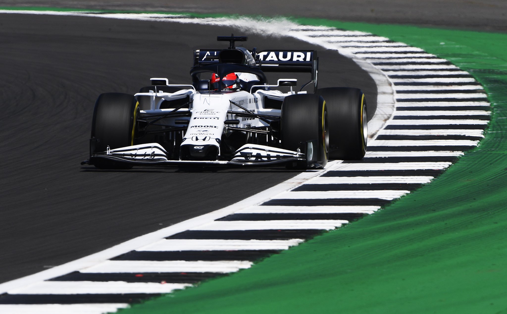 F1 - Officiel : Daniil Kvyat pénalisé sur la grille de départ à Silverstone