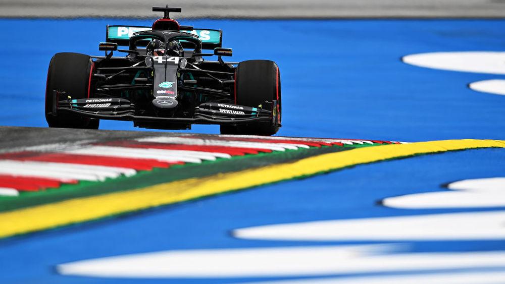GP autriche - EL1 : Hamilton le plus rapide, Grosjean en panne 1