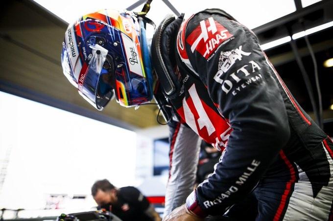 Romain Grosjean note des progrès sur sa Haas 1