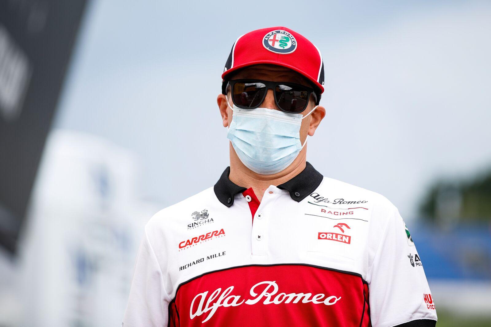 """Avant dernier sur la grille de départ, Kimi Raikkonen n'aura """"rien à perdre"""" en course 1"""