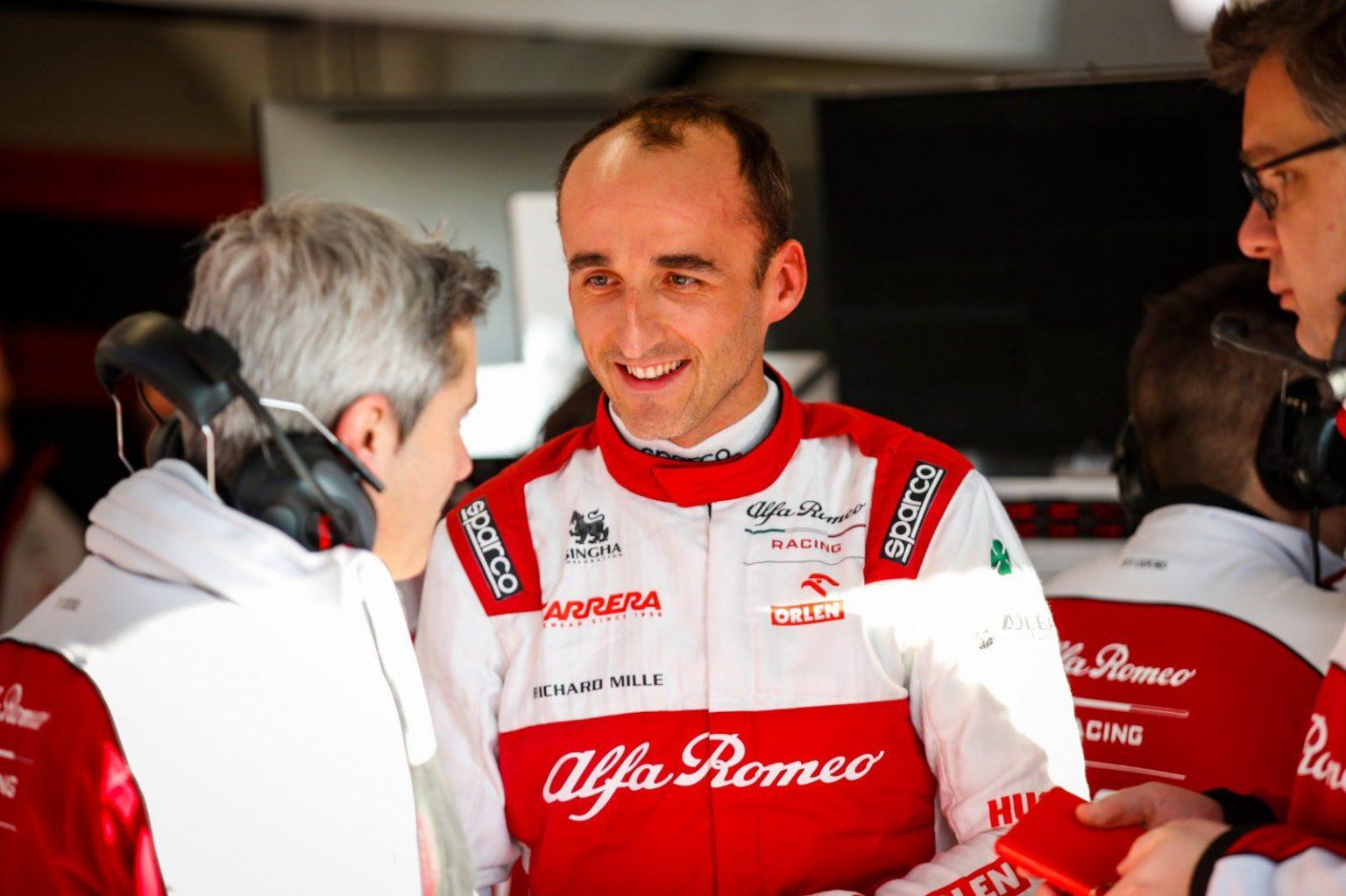 F1 - Robert Kubica espère pouvoir rouler avec la C41 cette saison