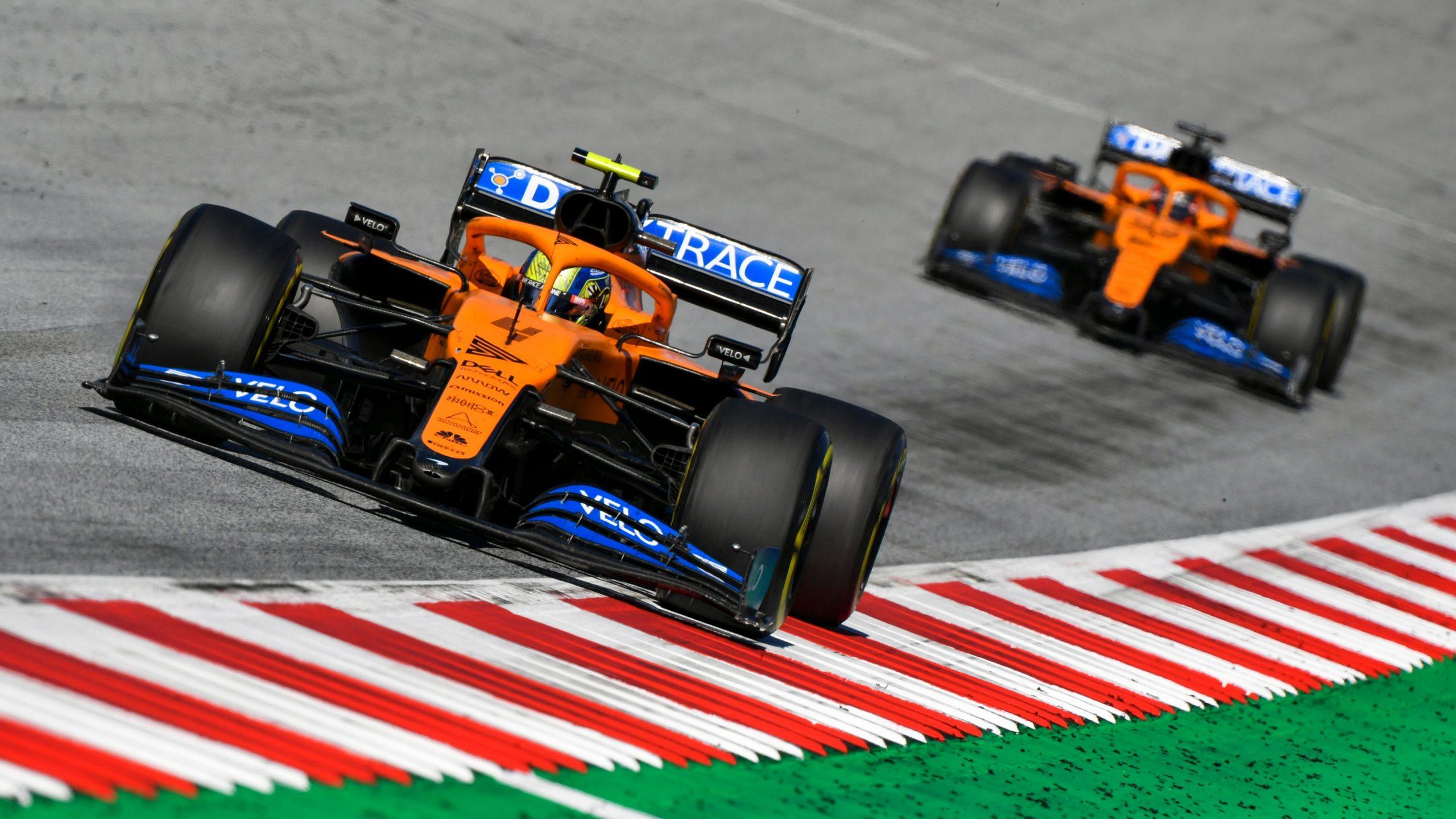 F1 - Officiel : Lando Norris pénalisé sur la grille de départ du GP de Styrie