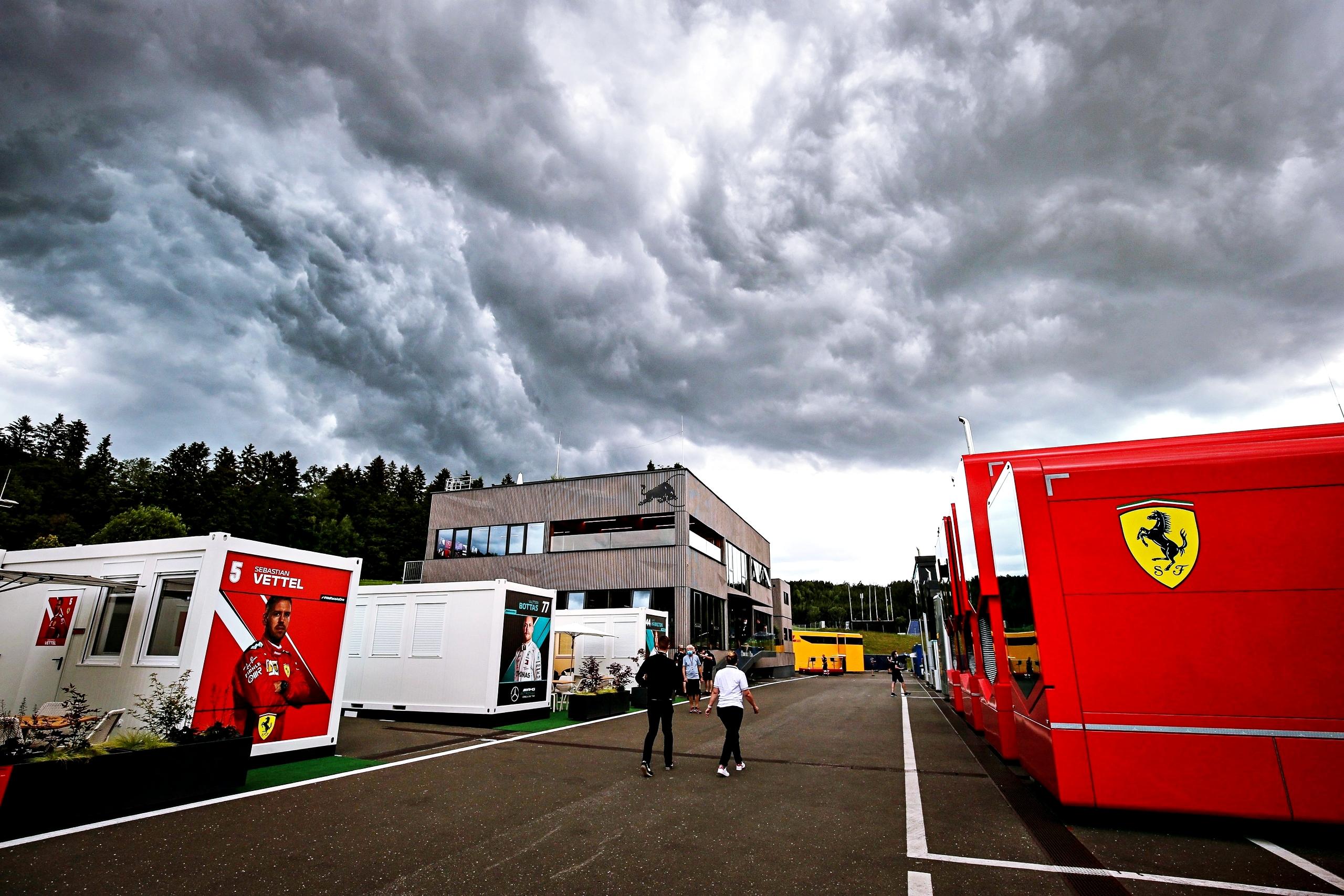 La pluie attendue pour le Grand Prix de Styrie ce dimanche 1