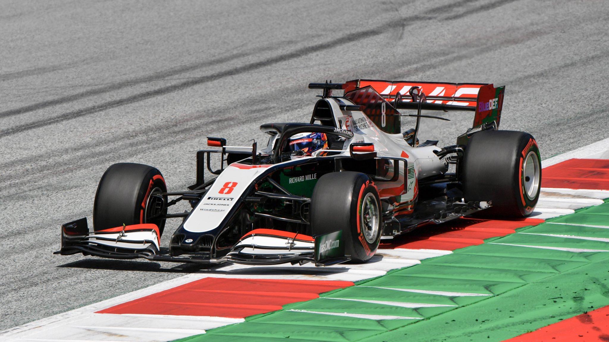 F1 - Grosjean confirme un manque de puissance du moteur Ferrari en qualifications