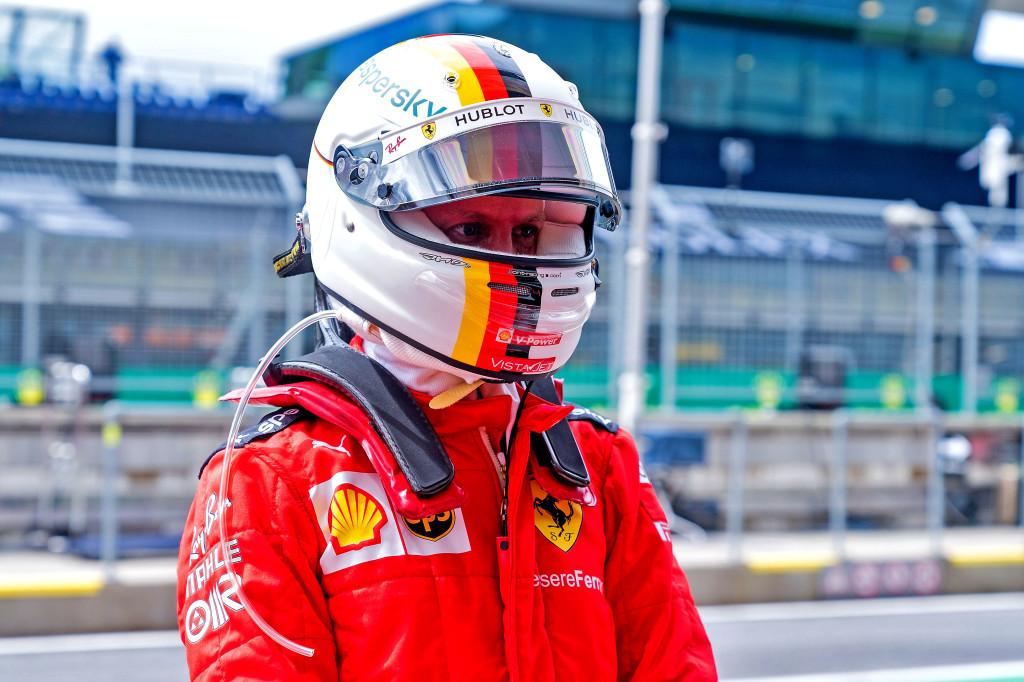 Onzième sur la grille, Vettel pointe l'une des faiblesses de sa Ferrari SF1000 1