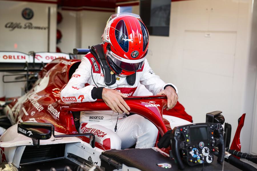 Robert Kubica confirmé au volant de l'Alfa Romeo ce vendredi au GP de Styrie 1