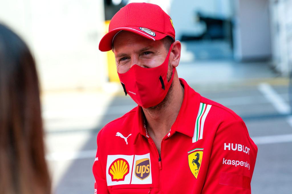Sebastian Vettel nie l'existence de tensions chez Ferrari 1