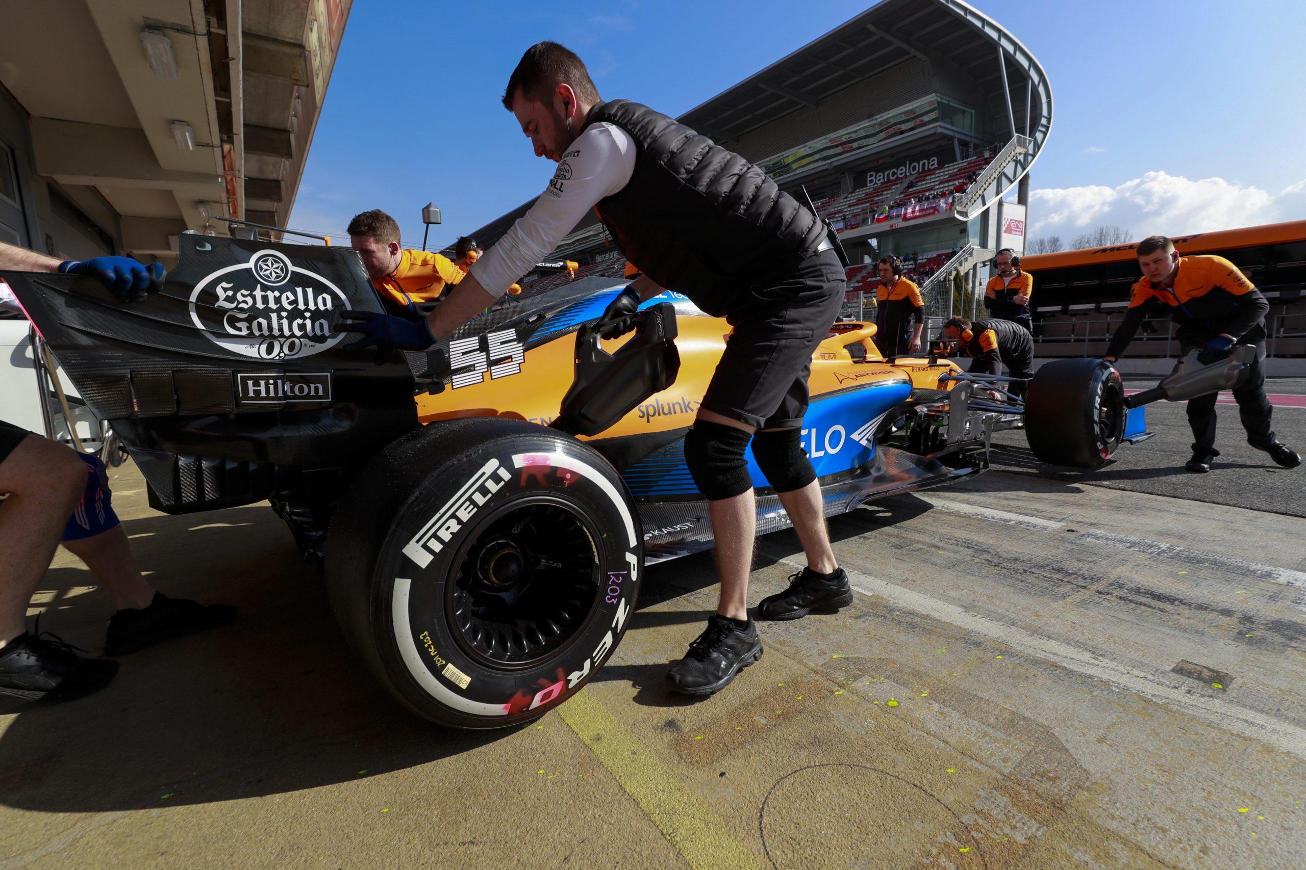 McLaren change le châssis de Carlos Sainz avant le GP d'Espagne 1