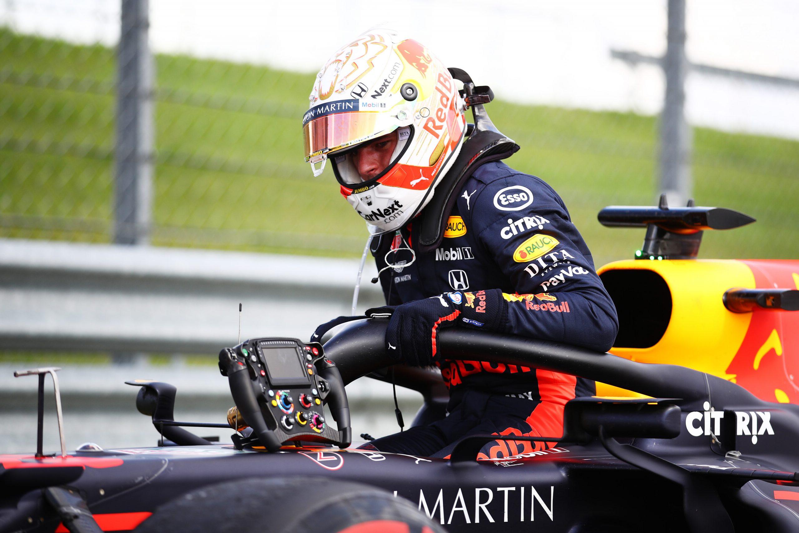 """Horner : """"Il n'y avait aucune garantie que Max puisse finir la course 1"""