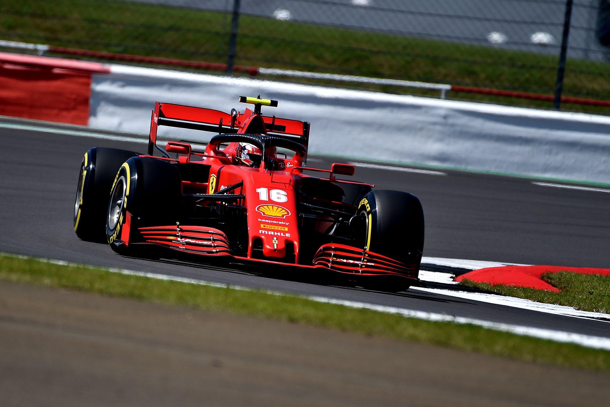 """Quatrième sur la grille de départ à Silverstone, Charles Leclerc ne l'a """"pas du tout vue venir"""" 1"""