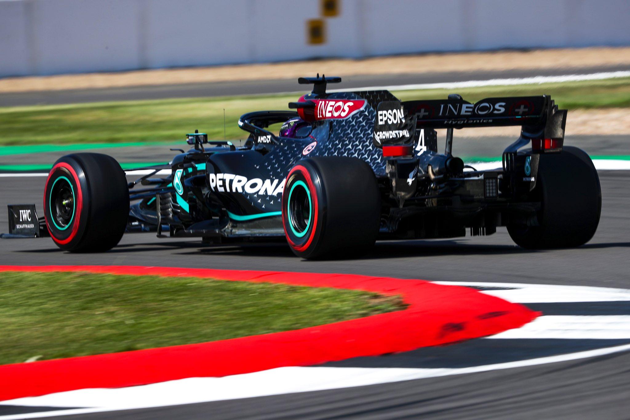 F1 - Silverstone - EL3 : Doublé Mercedes avant les qualifications