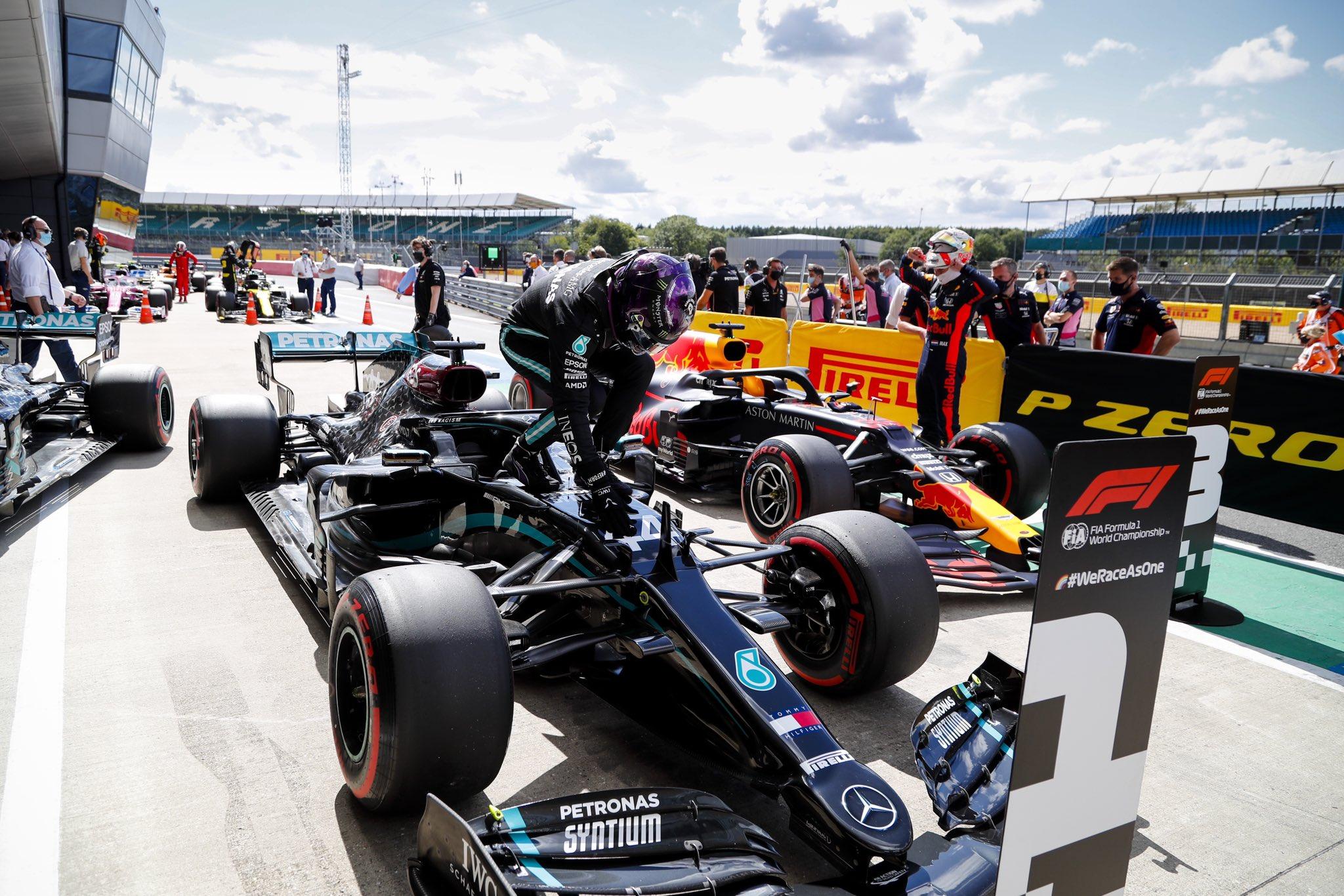 F1 - Qualifications Silverstone : Les réactions du top trois