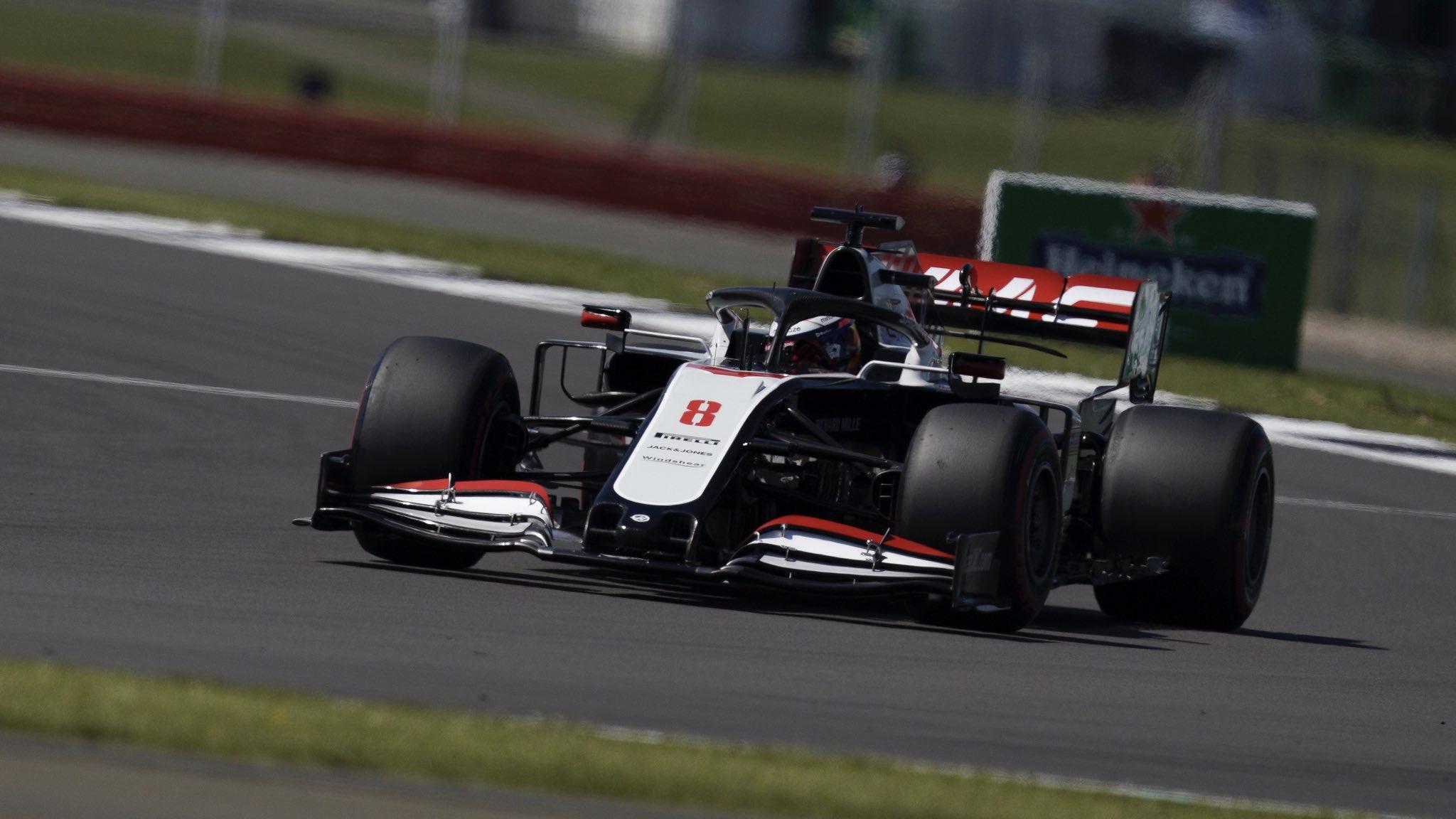 Grosjean ne comprend pas le manque de cohérence de sa Haas d'une séance à l'autre 1