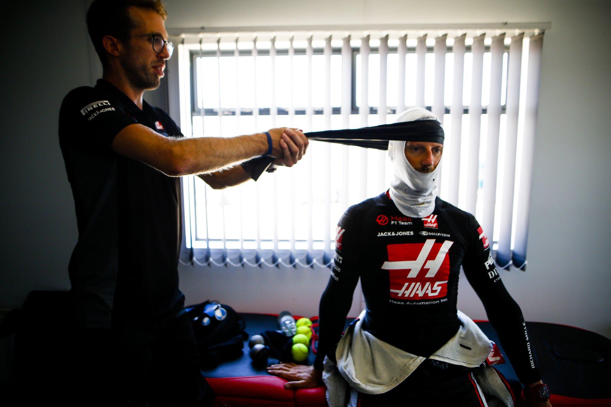 Officiel : Romain Grosjean reçoit un avertissement après le GP de Grande-Bretagne 1