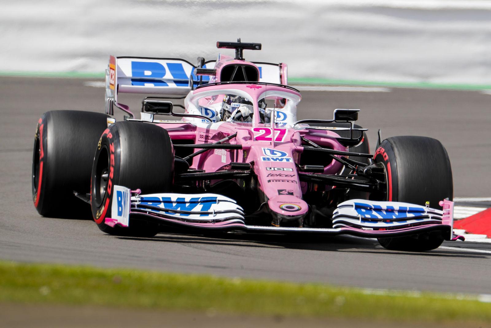 F1 - Après huit mois d'absence, Hülkenberg est fier de sa prestation en qualifs ce samedi
