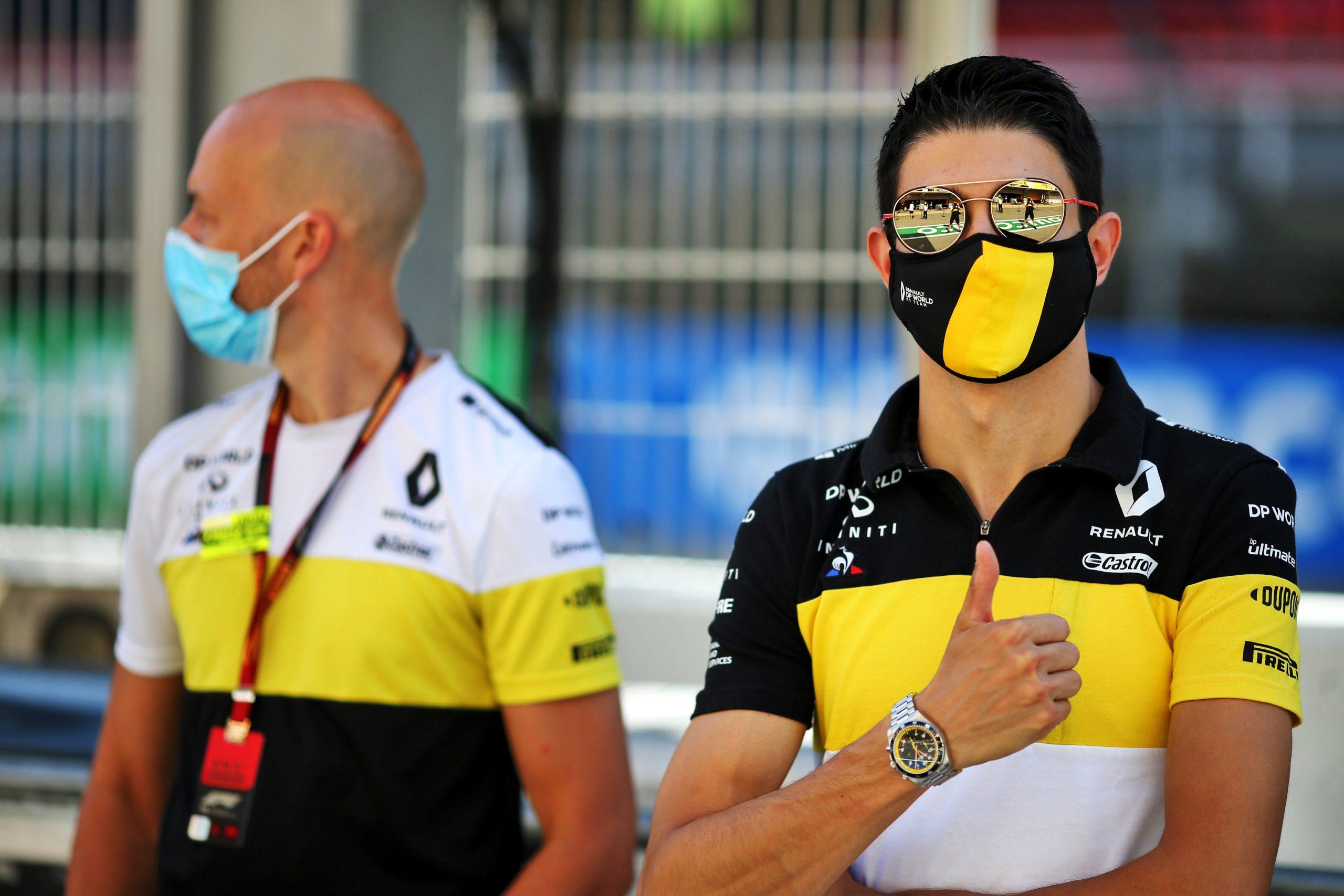 F1 - Ocon remercie une nouvelle fois ses mécaniciens après son crash à Barcelone