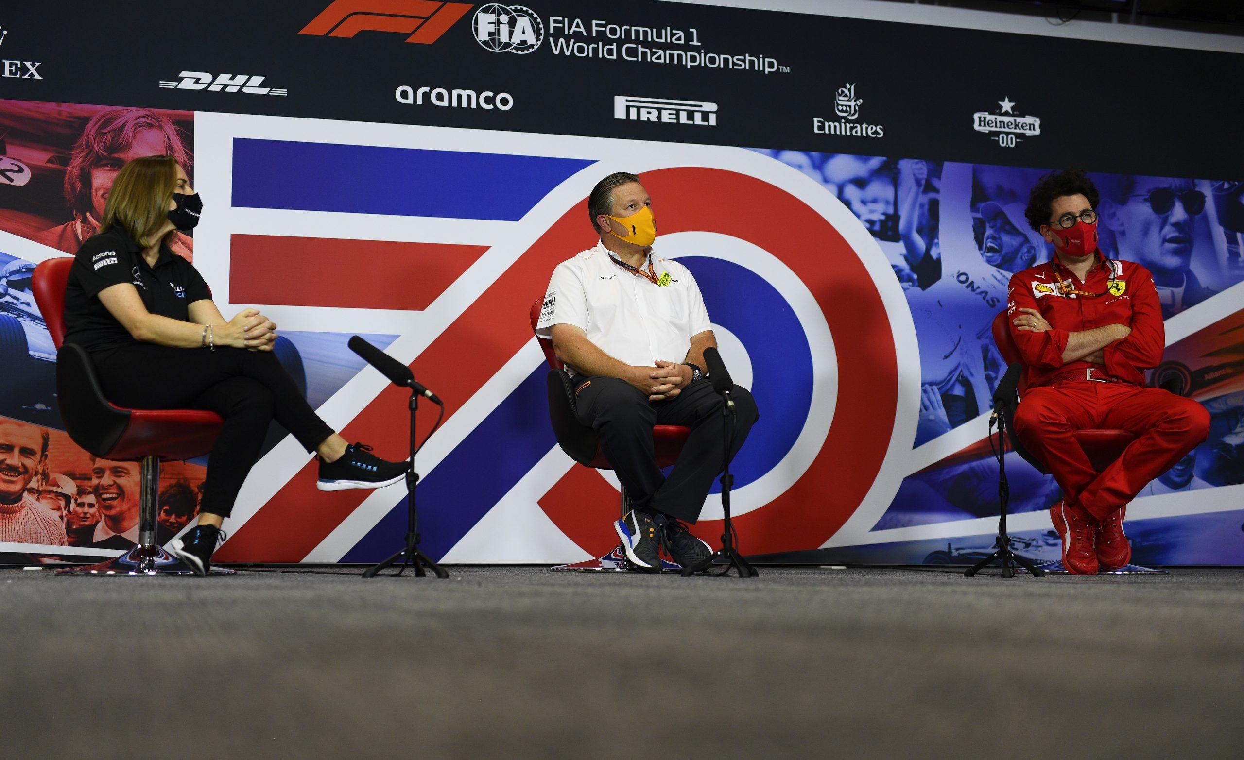 Le patron de McLaren ne comprend pas pourquoi Racing Point peut toujours utiliser ses écopes de freins 1