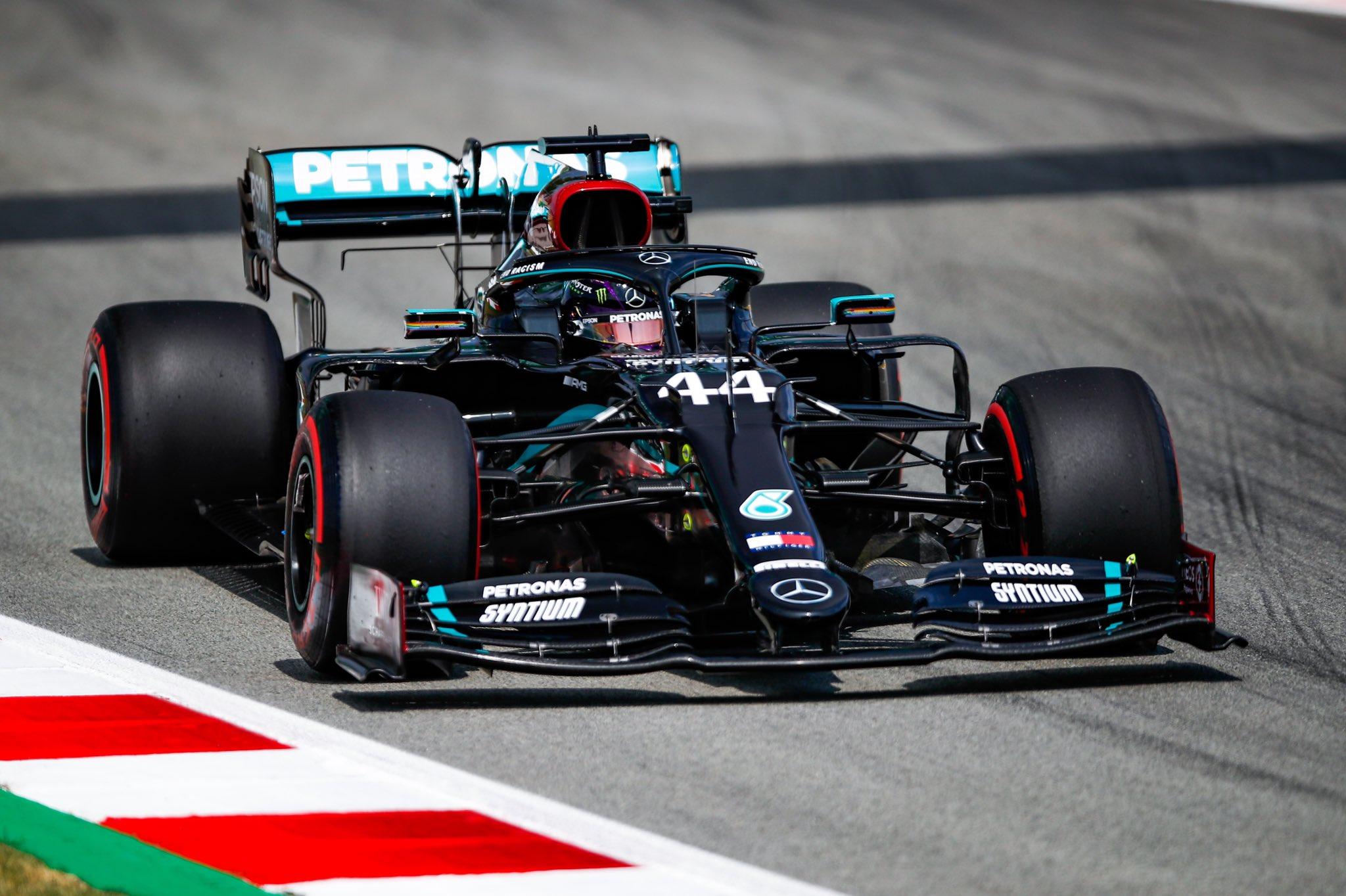 GP d'Espagne - EL2 : Hamilton deux dixièmes devant Bottas 1