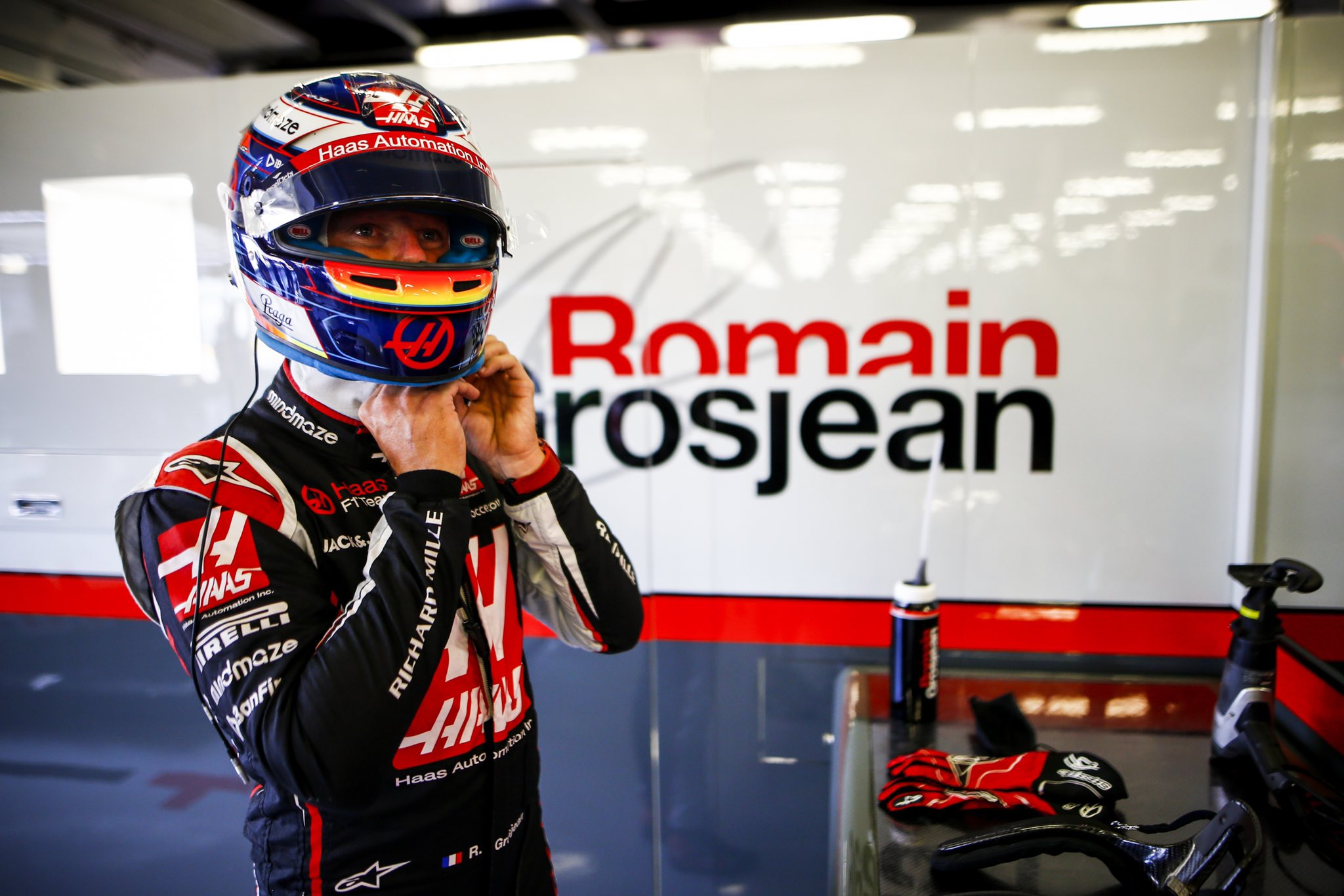 """Romain Grosjean s'attend à une autre course """"intéressante"""" ce dimanche à Silverstone 1"""