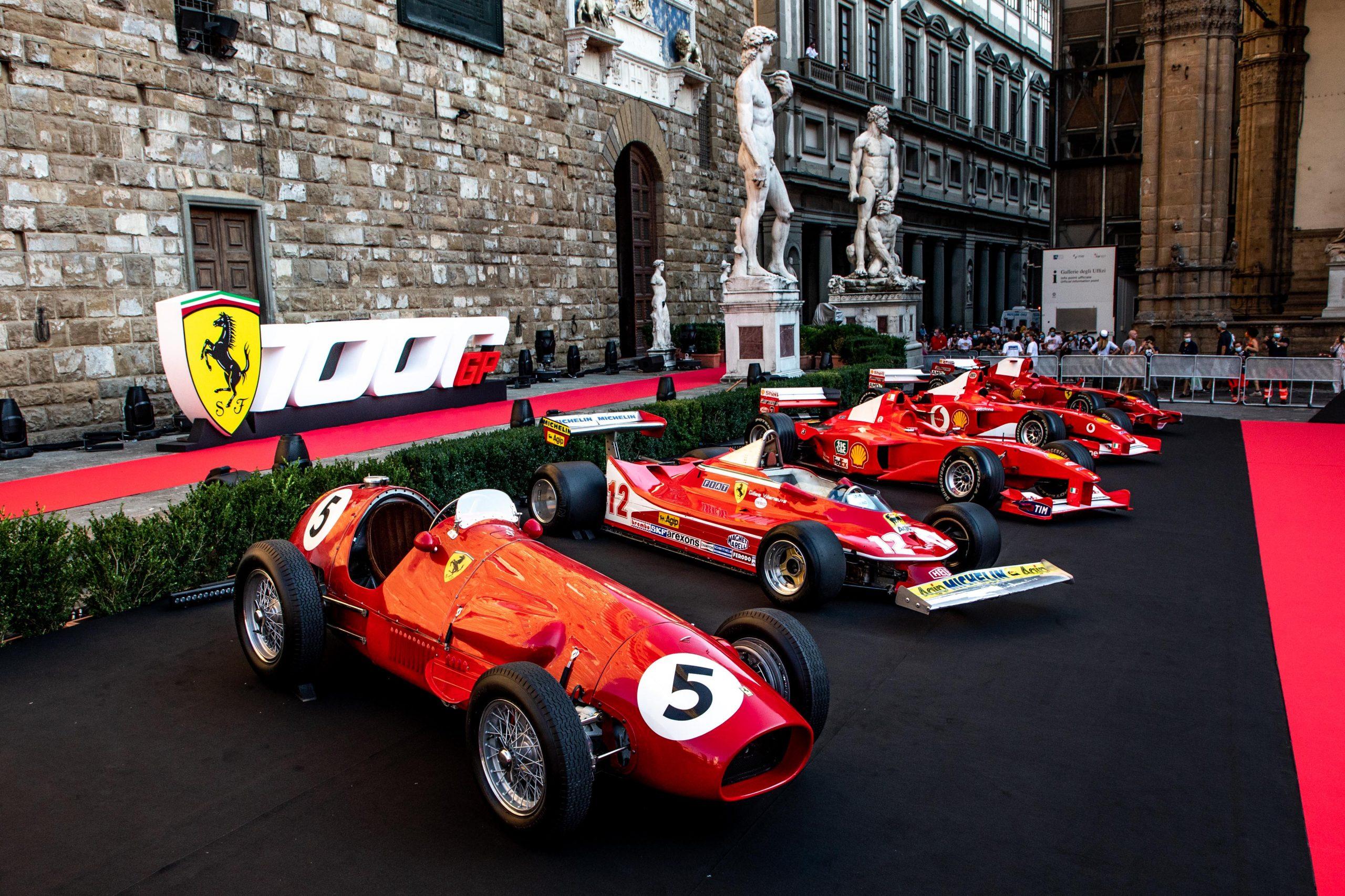 Ferrari a célébré son 1000e GP en F1 ce samedi à Florence 1