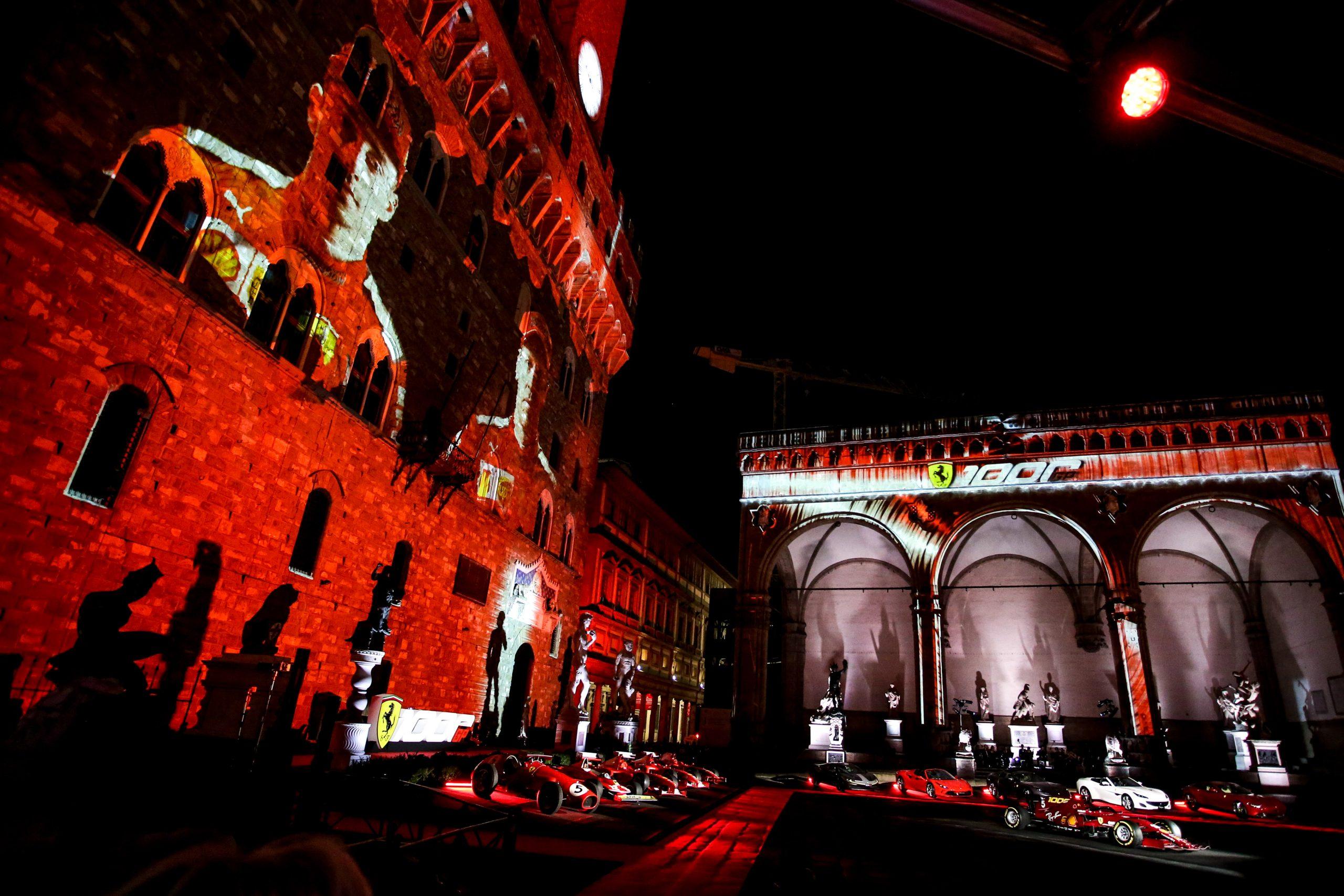 Ferrari a célébré son 1000e GP en F1 ce samedi à Florence 3