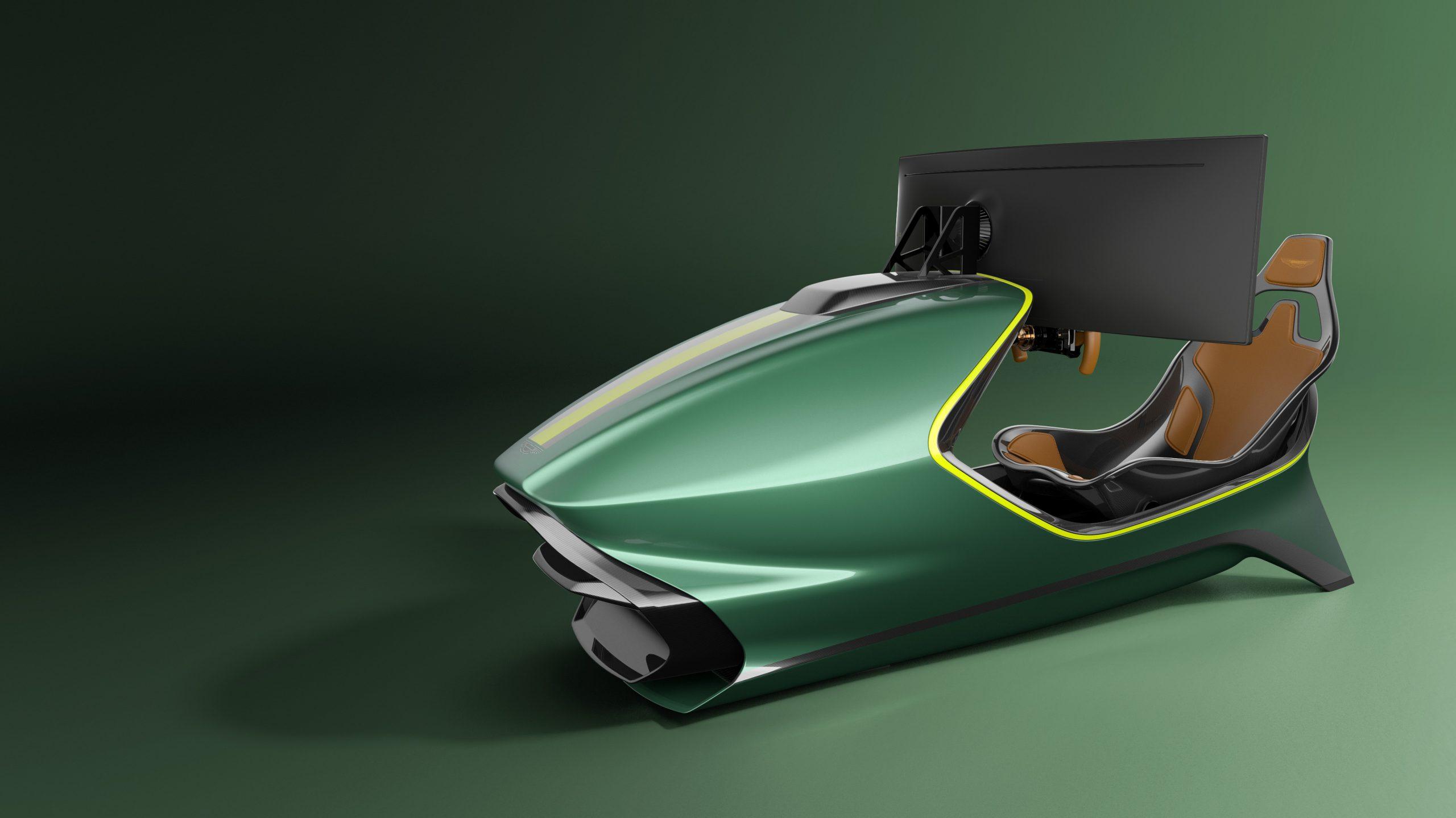 Aston Martin dévoile son premier simulateur: l'AMR-C01 3