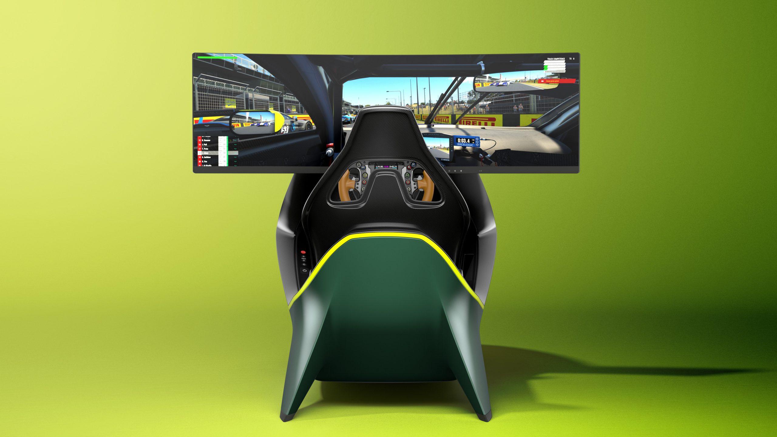 Aston Martin dévoile son premier simulateur: l'AMR-C01 2