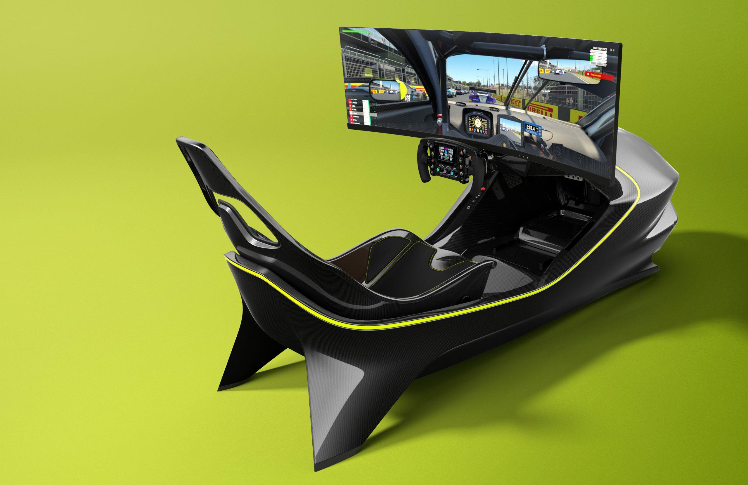 Aston Martin dévoile son premier simulateur: l'AMR-C01 1